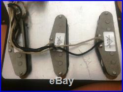 Fender Strat loaded Pickguard Custom Shop Fat 50s
