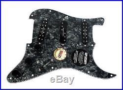 Fender Stratocaster Strat Loaded Pickguard Duncan Everything Axe Pickups BP/BK