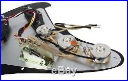 Fender Tex-Mex 920D Loaded Pre-wired Strat Pickguard BK/BK
