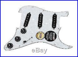 Fender Tex-Mex 920D Loaded Pre-wired Strat Pickguard WP/BK