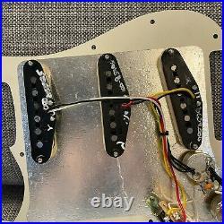 Fender Tex-Mex Stratocaster LOADED 3-Ply Parchment Pickguard USA Standard Strat