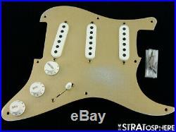 Fender USA Custom Shop 1955 Relic Stratocaster LOADED PICKGUARD Strat Dual-Mag