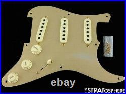 Fender USA Custom Shop 1957 Relic Stratocaster LOADED PICKGUARD Strat ME