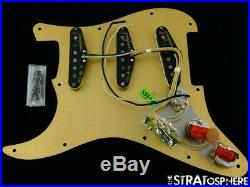 Fender USA Custom Shop 60s Big Head Stratocaster LOADED PICKGUARD Strat Josefina