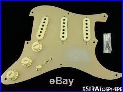 Fender USA Custom Shop NAMM 1956 Relic Stratocaster Gold LOADED PICKGUARD Strat