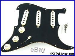 Fender USA Custom Shop Poblano Stratocaster LOADED PICKGUARD Strat BLK Josefina