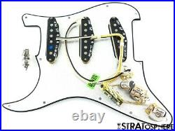 Fender USA Custom Shop Poblano Stratocaster LOADED PICKGUARD Strat SP