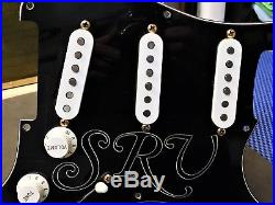 Fender USA Stevie Ray Vaughan Strat LOADED PICKGUARD Texas Special Pickups Relic