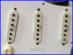 Fender USA Yngwie Malmsteen Strat Guitar LOADED PICKGUARD Duncan S10-STK Fury