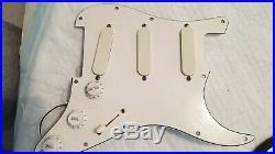 Fender lace sensors Strat Plus Dx V2 loaded Pickguard 1989