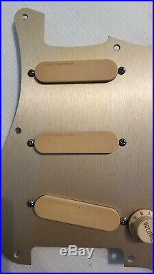 Fender lace sensors Strat Plus loaded Pickguard 1989/91