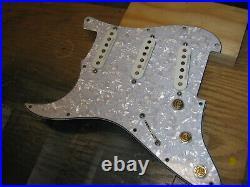 For sale, left handed fender strat loaded pickguard