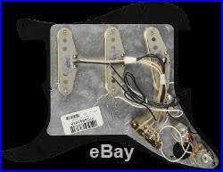 Genuine FENDER Pre-Wired CUSTOM SHOP'69 Loaded Strat 11-Hole BLACK Pickguard