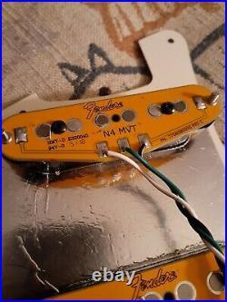 Genuine FENDER Pre-Wired HSS SHAWBUCKER & GEN4 Loaded TORTOISE Strat Pickguard