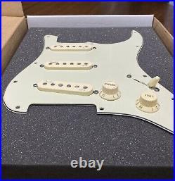 Genuine Fender American Deluxe Stratocaster Strat N3 Pickups S1 Loaded Pickguard