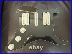Genuine Fender Player Strat loaded pickguard, Prewired Pickguard, Right Handed