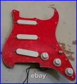 Lace Sensor Hot Gold Fender Stratocaster Loaded Strat Pickguard
