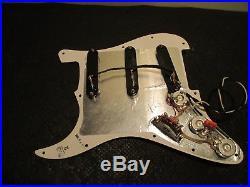 Lace sensor Hot gold/Hot bridge Strat PU's/loaded Fender strat pickguard Used