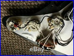 Left Handed Stratocaster Strat Loaded Pickguard Custom USA Hand Wound Pickups