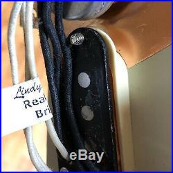 Lindy Fralin Real 54 Loaded Prewired Strat Pickguard Pickups Alnico 3