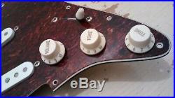 Lindy Fralin Vintage Hot Loaded Strat Pickguard Pickup Set Fender Stratocaster