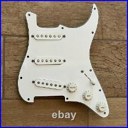 Lindy Fralin Woodstock'69 Loaded Prewired Strat Pickguard Solderless Hendrix