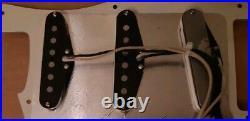 Lindy Fralin pickup loaded Fender Stratocaster pickguard Strat Mint Green