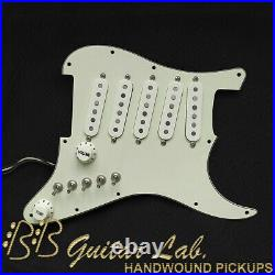 Loaded Guitar Pickguard for Fender Strat 5-pickups on based John Mayer +30 tones