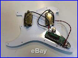 Loaded Pickguard HH Stratocaster Strat Pickup 68 Tones Blues Jazz Metal Country