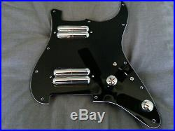 Loaded/Pre-wired Pickguard. 11 hole strat-style HH. All new premium parts