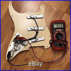Loaded Seymour Duncan SLS-1 Lipstick Pickup Set Stratocaster Pickguard Strat