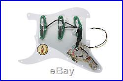 Loaded Strat Pickguard DiMarzio BC-1, BC-2, DP184 Chopper Billy Corgan BK/WH
