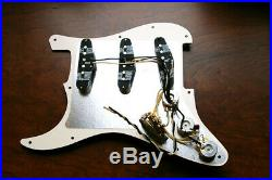 Lollar Special Pickup Loaded Strat Pickguard All Aged Cream Color USA Made