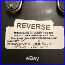 Metalshop Music Fender Custom Shop Fat 50s 7 Way Loaded Strat Pickguard PreWired