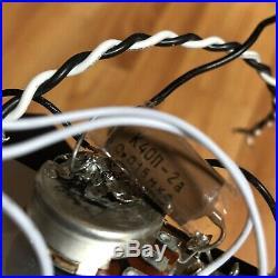 Mojotone 67 Quiet Coil with Hot Bridge Strat Loaded Prewired Pickguard PIO