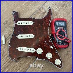 NEW Fender Custom Shop 54 Strat Pickup Set PIO Prewired Loaded Pickguard