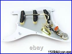 NEW Fender Stratocaster LOADED PICKGUARD Strat 57/62 Brown Tortoise 8 Hole