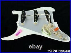 NEW Fender Stratocaster LOADED PICKGUARD Strat 57/62 Parchment 3 Ply 11 Hole