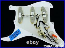 NEW Fender Stratocaster LOADED PICKGUARD Strat 69 DARK Brown Tortoise 8 Hole
