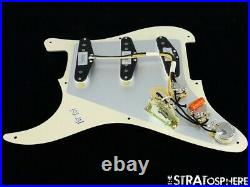 NEW Fender Stratocaster LOADED PICKGUARD Strat CShop Fat 50s Aged Pearloid 8Hole