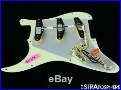 NEW Fender Stratocaster LOADED PICKGUARD Strat C Shop Fat 50s Mint 3 Ply 11 Hole