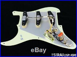 NEW Fender Stratocaster LOADED PICKGUARD Strat C Shop Fat 50s Mint 3 Ply 8 Hole