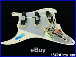 NEW Fender Stratocaster LOADED PICKGUARD Strat C Shop Fat 60s Cream 11 Hole