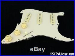 NEW Fender Stratocaster LOADED PICKGUARD Strat Custom Shop 69 Cream 3Ply 11 Hole