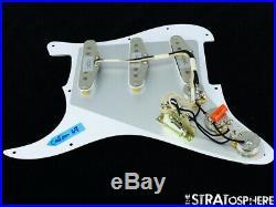 NEW Fender Stratocaster LOADED PICKGUARD Strat Custom Shop 69 White 3Ply 11 Hole