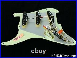 NEW Fender Stratocaster LOADED PICKGUARD Strat Tex Mex Mint Green 3 Ply 11 Hole