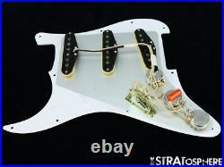 NEW Fender Stratocaster LOADED PICKGUARD Strat Vint 57/62 Brown Tortoise 11 Hole