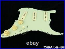 NEW Fender Stratocaster LOADED PICKGUARD Strat Vintage 57/62 Mint 3 Ply 11 Hole