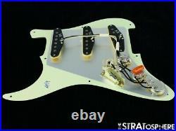 NEW Fender Stratocaster LOADED PICKGUARD Strat Vintage 59 Mint Green 3Ply 8 Hole