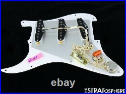 NEW Fender Stratocaster LOADED PICKGUARD Strat Vintage 59 White Pearloid 11 Hole